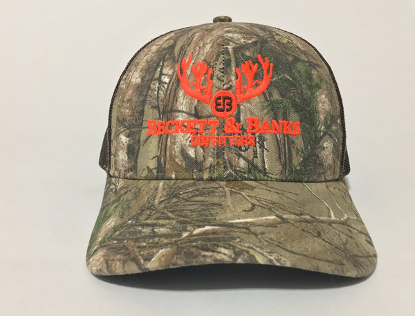 Deer Stand B&B Real Tree Xtra Camo Snapback Trucker Hat - Beckett & Banks Outfitters