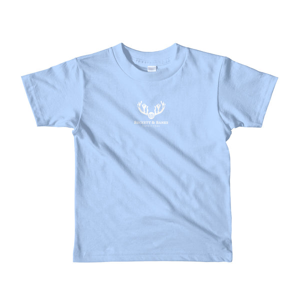 """The Grey"" Short sleeve kids t-shirt - Beckett & Banks Outfitters"