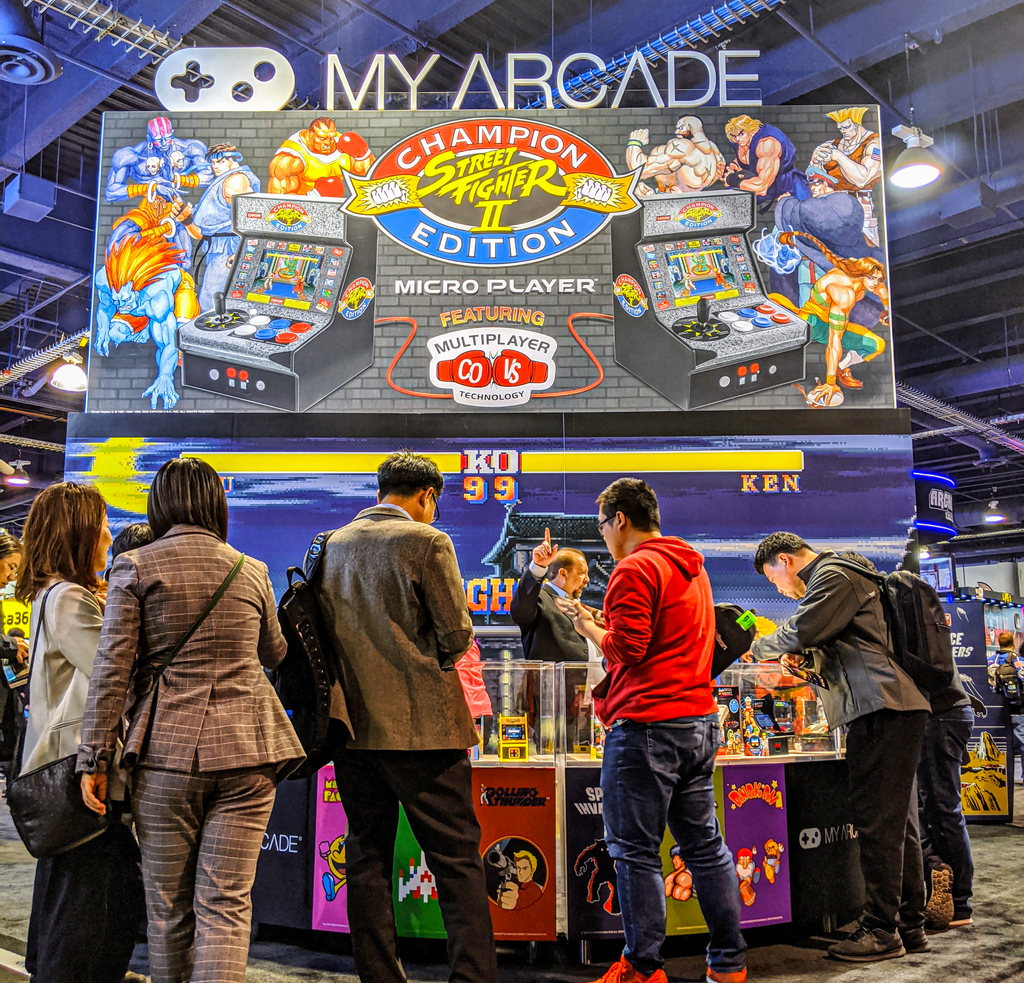 Ces 2020 My Arcade Announces Street Fighter Ii Champion Edition Mi