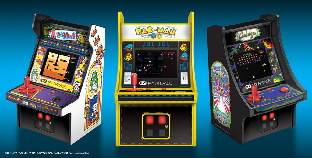 My Arcade® Brings Range of Highly Collectible Table-Top Arcade Machines and Portable Handhelds to European Gamers