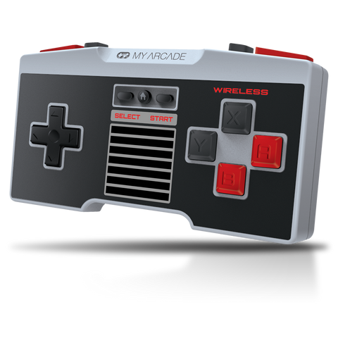 Front view of GamePad Pro wireless controller for NES Classic Edition®