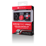Package front of GamePad Pro wireless controller for NES Classic Edition®