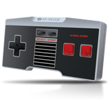 Front view of GamePad Classic wireless controller for NES Classic Edition®