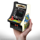 My Arcade GALAXIAN Micro Player Retro Arcade cabinet in hand