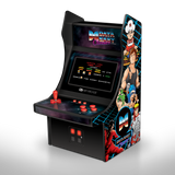 Mini Player Retro Arcade with Data East games front left angle