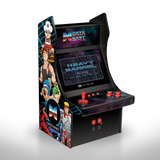 Mini Player Retro Arcade with Data East games front right angle