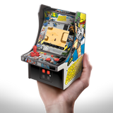 My Arcade Heavy Barrel Micro Player Arcade cabinet in hand