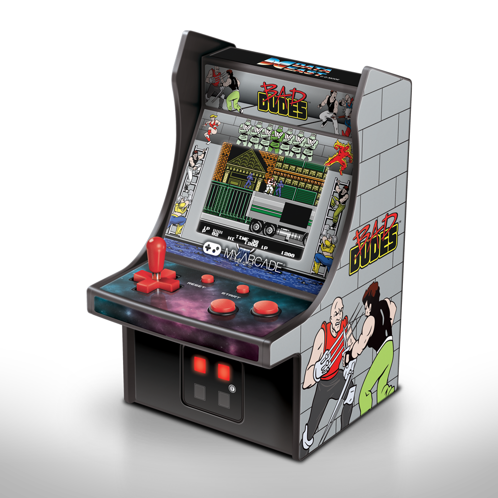 4387f4c7bc6c My Arcade Bad Dudes Micro Player Retro Arcade cabinet