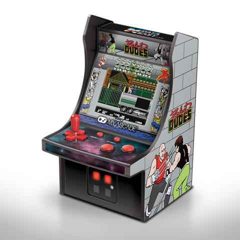 My Arcade Bad Dudes Micro Player Retro Arcade cabinet