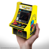 My Arcade PAC-MAN Micro Player Retro Arcade cabinet in hand