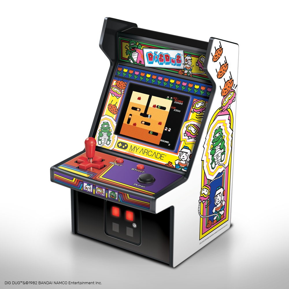 Dig Dug Micro Player From My Arcade 174
