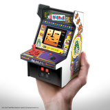 My Arcade DIG DUG Micro Player Retro Arcade cabinet in hand