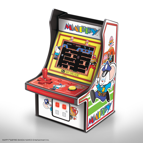 My Arcade MAPPY Micro Player Retro Arcade cabinet