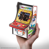 My Arcade MAPPY Micro Player Retro Arcade cabinet in hand