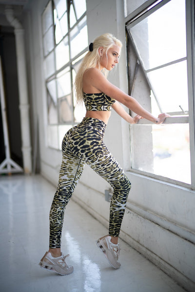 Leopard Workout Leggings