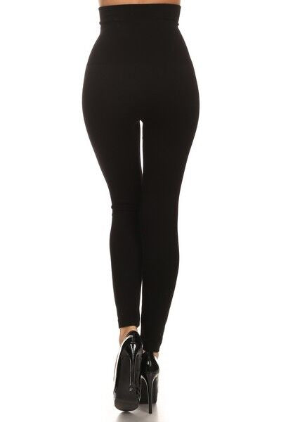 Cotton High Waisted Compression Leggings