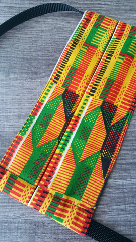 Kente Reusable Fabric Mask