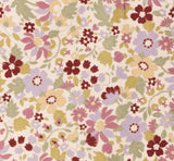 Retro Flowers Lilla/Bordeaux