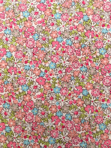 50s Floral Print pink