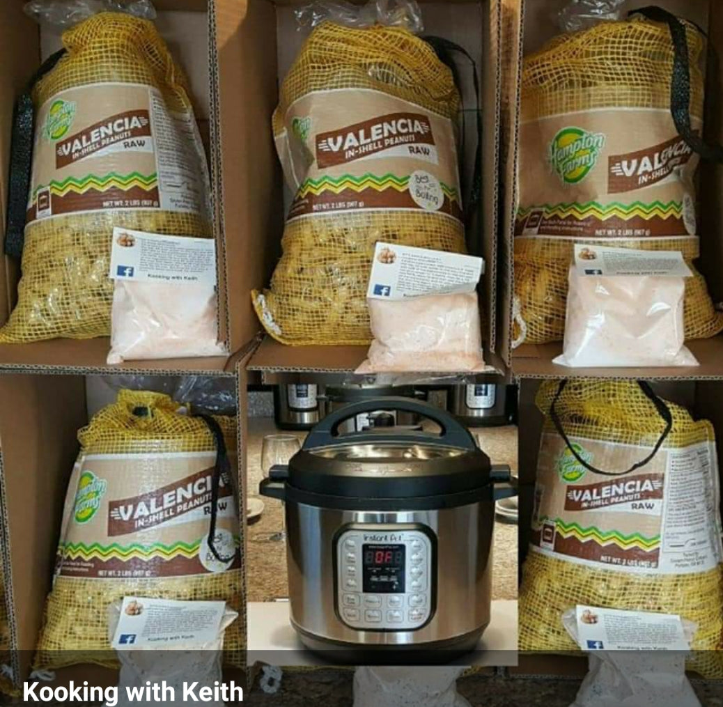 Boiled peanut kit.