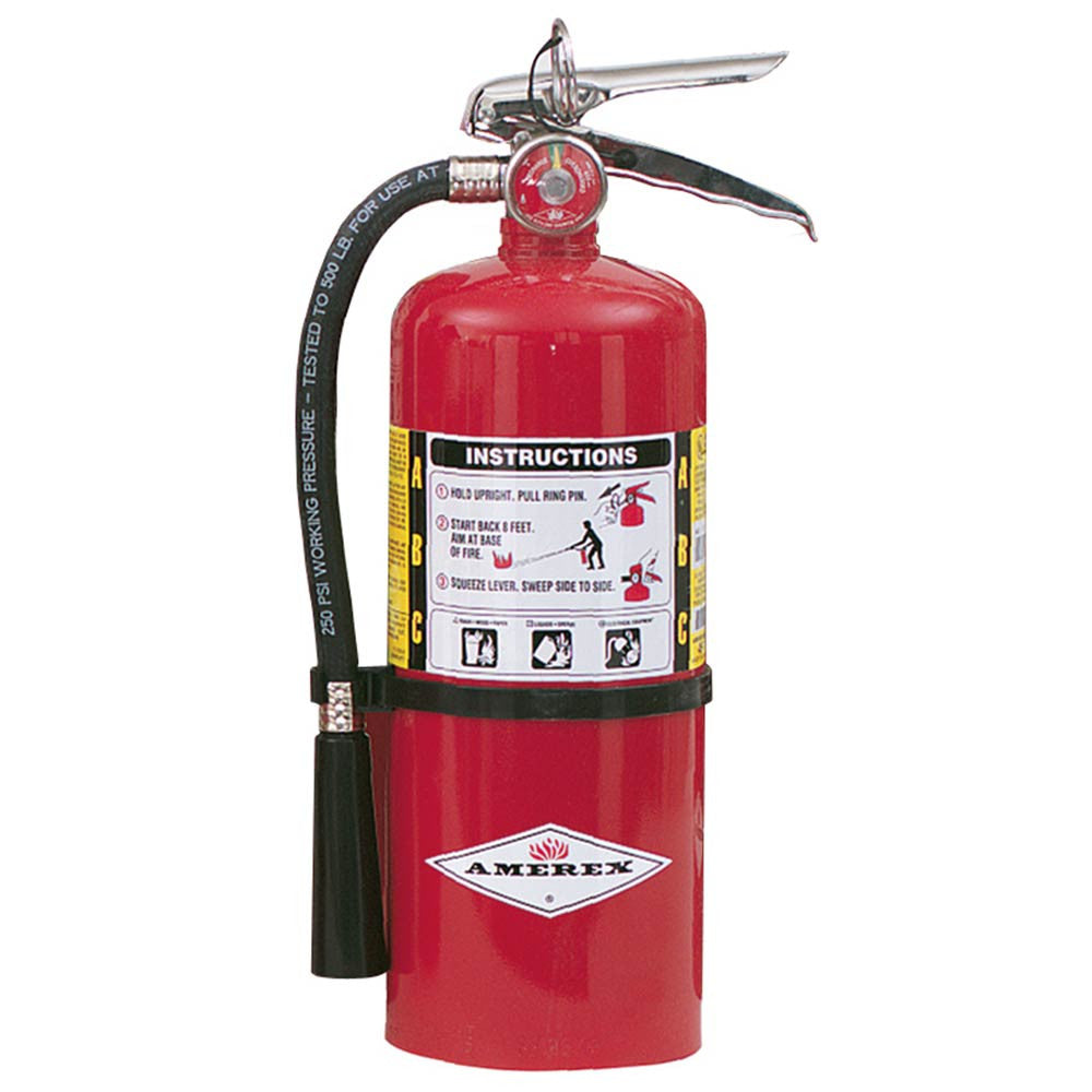Amerex Abc Chemical Fire Extinguisher B461