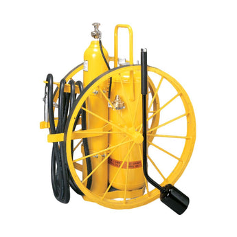 150lb Specialty Wheeled Fire Extinguisher