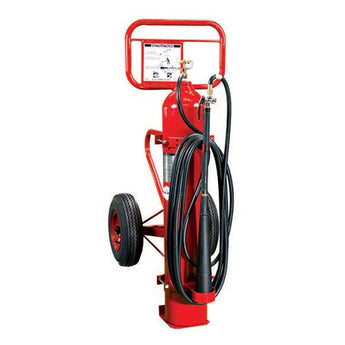 50lb Specialty Wheeled Fire Extinguisher