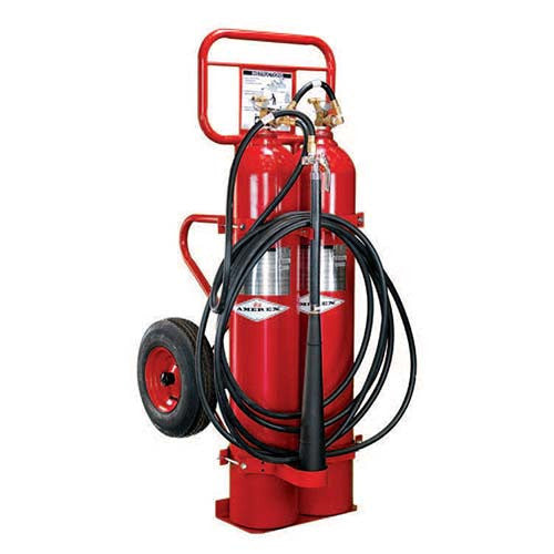 100lb Specialty Wheeled Fire Extinguisher