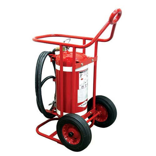 65lb Clean Agent Wheeled Fire Extinguisher