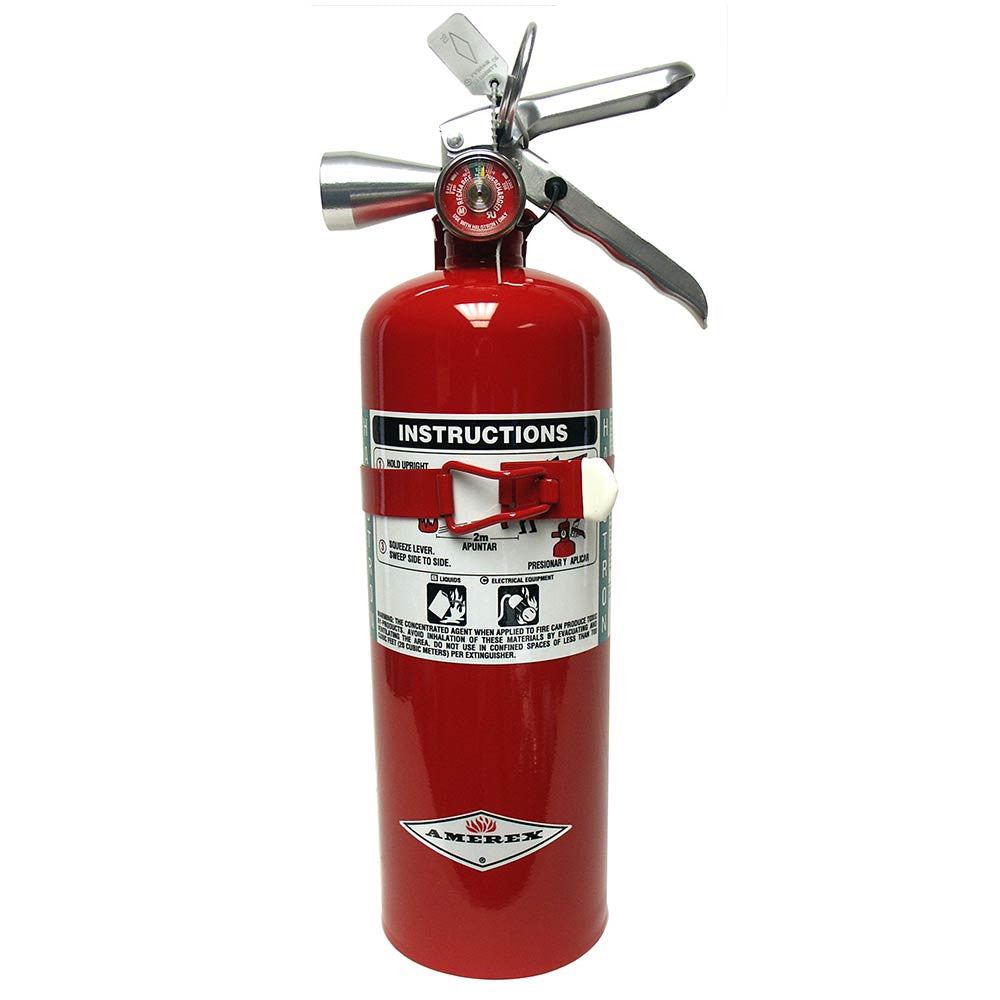 Abc Fire Extinguisher >> Amerex Halotron I Fire Extinguisher | B386T ...