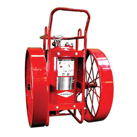 125lb Stored Pressure Wheeled Fire Extinguisher