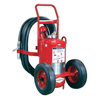 125lb Nitrogen Cylinder Operated Wheeled Fire Extinguisher