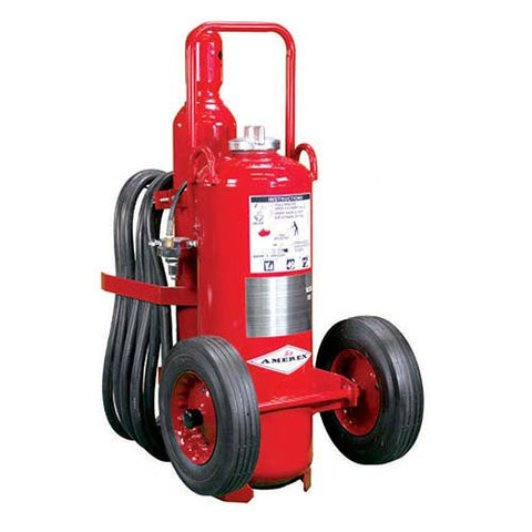 150lb Nitrogen Cylinder Operated Wheeled Fire Extinguisher