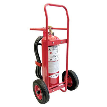 50lb Stored Pressure Wheeled Fire Extinguisher