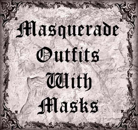 Masquerade Outfits With Masks Collection