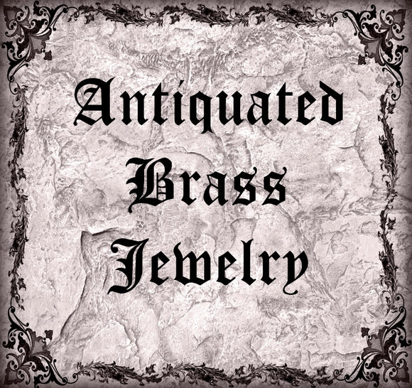 Antiquated Brass Jewelry Collection
