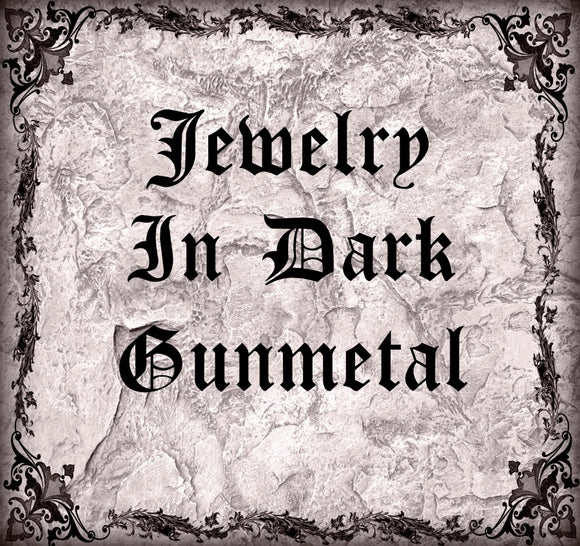 Dark Gunmetal Jewelry Collection