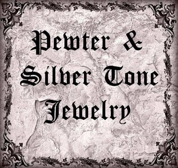 Pewter & Silver Tone Jewelry Collection