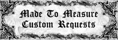 made to measure custom requests info page header