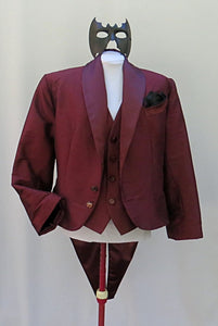 Masquerade Add-A-Date Mister Merlot Jacket, Vest, Mask Set