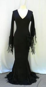 Bits And Spiders Morticia Addams Dress