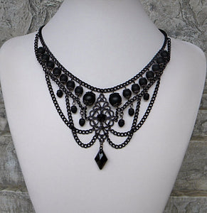 Black In Matte Necklace