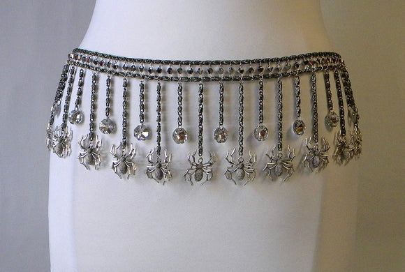 Dancing Spiders Chain Belt