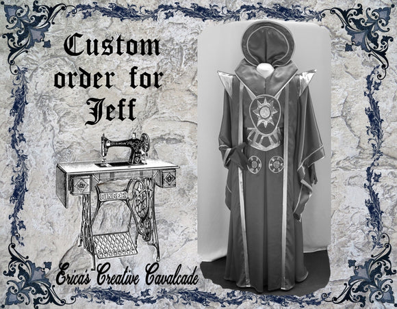 Custom Order For Jeff