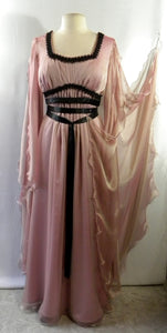 Lily Munster Light Pink Chiffon Dress