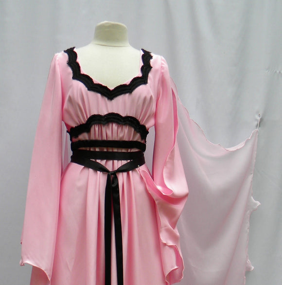 Lily Munster Pretty In Pink Dress