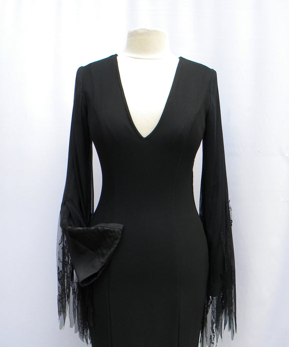 Morticia Addams Meshy Entangoments Dress