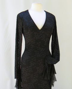 Morticia Addams Uniquely Alluring Dress