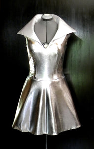 Silver Space Lady Dress