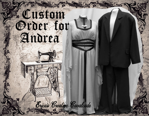 Custom Order For Andrea